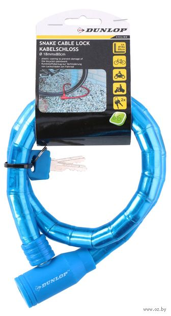 Велозамок на ключ (80 см) — фото, картинка