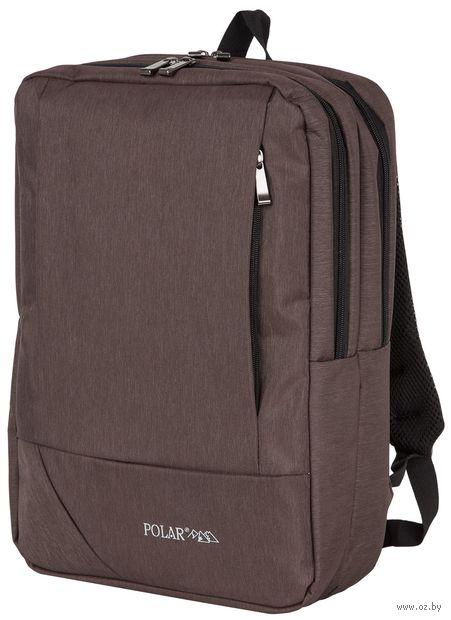 Рюкзак П0045 (9,9 л; коричневый) — фото, картинка