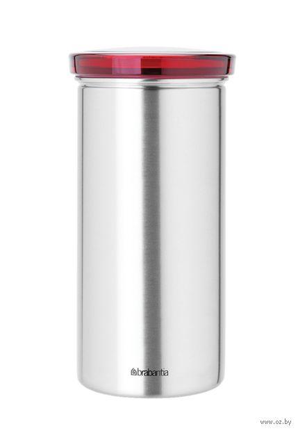 Контейнер для чая и кофе (красный) — фото, картинка