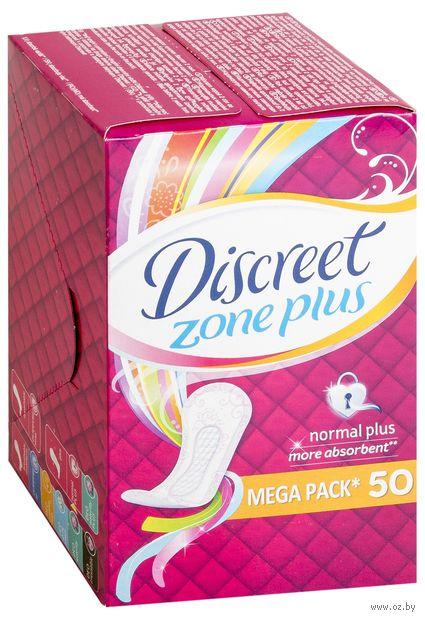 Ежедневные прокладки Discreet Plus Normal Plus Trio (50 шт)