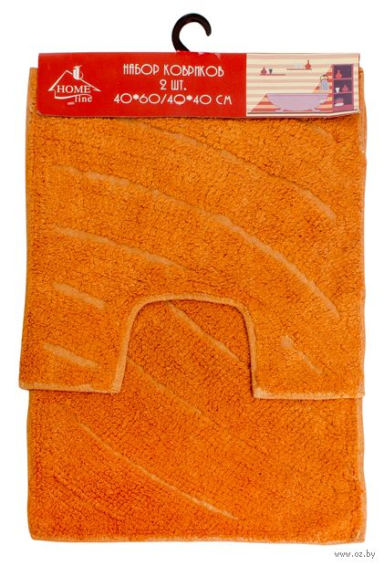 Набор ковриков текстильных (2 шт.; арт. S-0046)