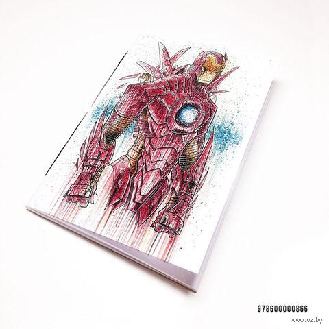 """Блокнот """"Железный человек"""" (А7; арт. 866)"""