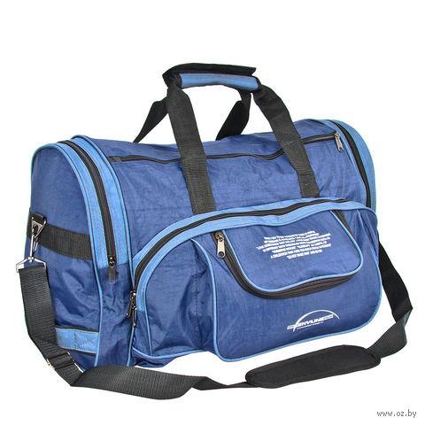 Сумка спортивная 6066с (44,5 л; сине-голубая) — фото, картинка