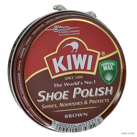 """Крем для обуви """"Shoe Polish"""" (50 мл; коричневый) — фото, картинка"""