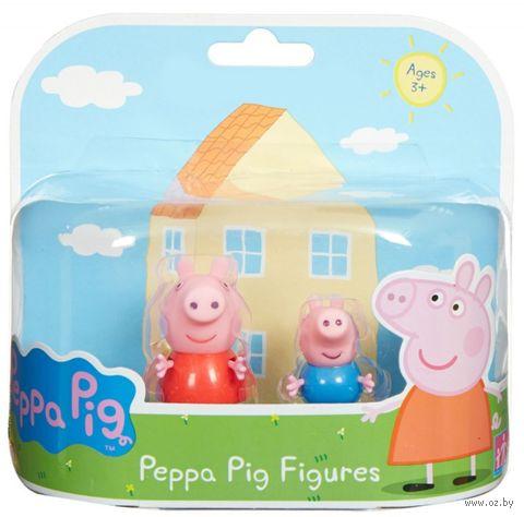 """Набор фигурок """"Peppa Pig. Пеппа и Джордж"""" (2 шт.) — фото, картинка"""