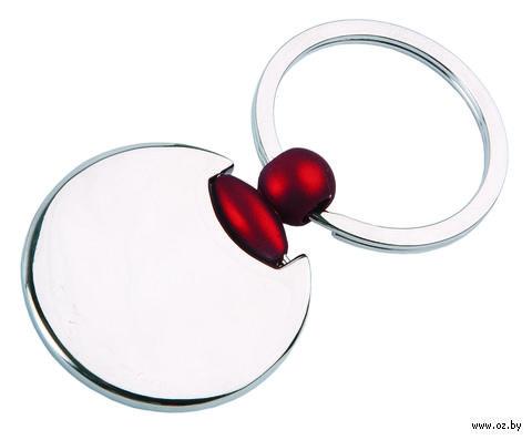 Брелок (круглый, красный) — фото, картинка