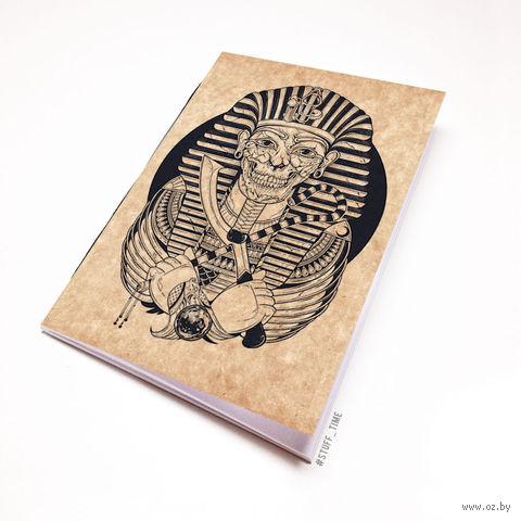 """Блокнот крафт """"Мумия Фараона"""" А5 (арт. 475)"""