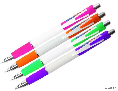 """Ручка автоматическая """"Darvish"""" (синий стержень; арт. DV-1537)"""