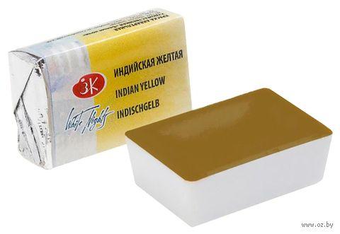"""Краска акварельная """"Белые ночи"""" (индийская желтая, 2,5 мл; арт. 1911515) — фото, картинка"""