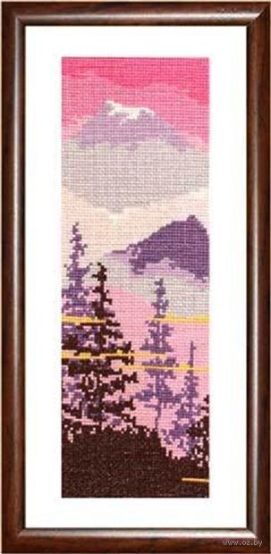 """Вышивка крестом """"Пейзаж"""" (100х280 мм; арт. 125В) — фото, картинка"""