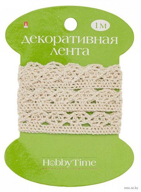 "Шнур декоративный ""Hobby Time"" (коричневый; 2 м) — фото, картинка"