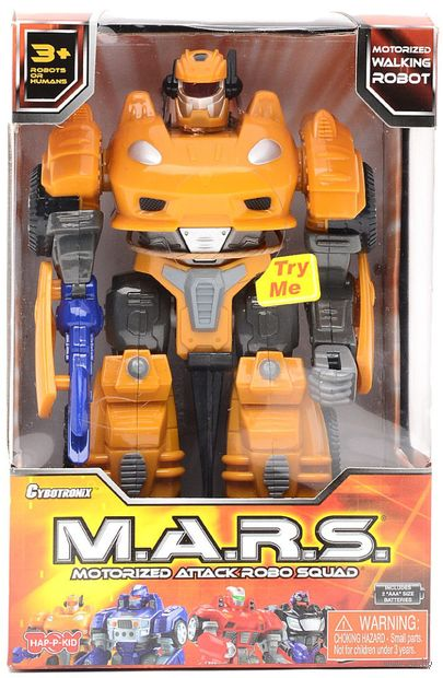 """Робот-трансформер """"Mars"""" (со световыми и звуковыми эффектами) — фото, картинка"""