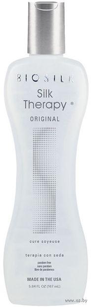 """Гель-сыворотка для волос """"Silk Therapy. Восстанавливающая"""" (167 мл) — фото, картинка"""