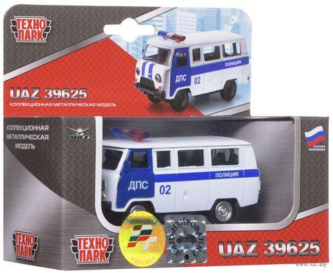 "Модель машины ""УАЗ. Полиция. ДПС"" (масштаб: 1/43)"