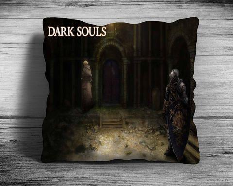 """Подушка """"Dark Souls"""" (арт. 10; 28х28 см) — фото, картинка"""