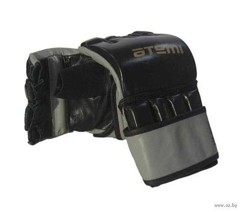 Перчатки для MMA LTB19113 (S; кожа; чёрные) — фото, картинка