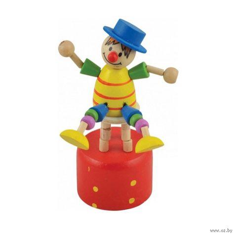 """Дергунчик """"Клоун на стуле"""""""