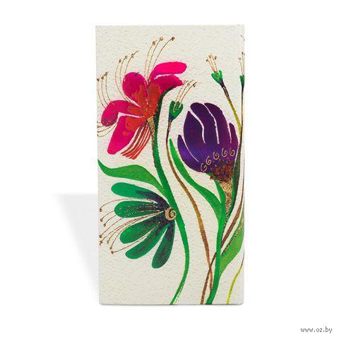 """Записная книжка Paperblanks """"Цветы ветра"""" в линейку (формат: 95*180 мм, слим)"""