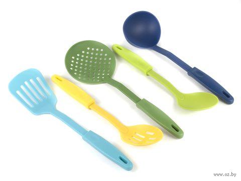 Набор кухонных инструментов пластмассовых (5 предметов; арт. 170413070)