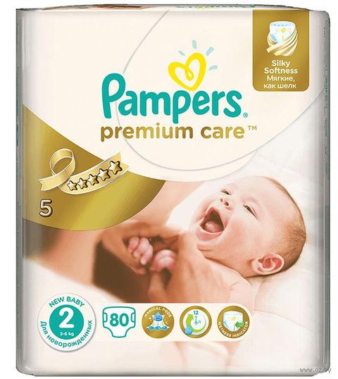 """Подгузники """"Pampers Premium Care Mini"""" (3-6 кг, 80 шт)"""