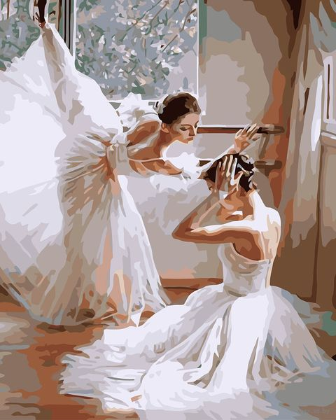 "Картина по номерам ""Балерины"" (400х500 мм; арт. PC4050019) — фото, картинка"