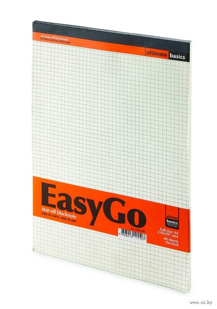 "Блокнот в клетку ""EasyGo"" (А4) — фото, картинка"