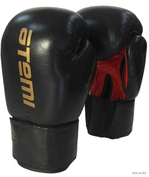 Перчатки боксёрские LTB19026 (10 унций; чёрно-красные) — фото, картинка