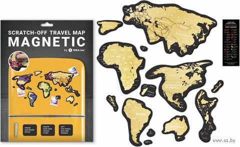 """Магнитная скретч-карта """"Magnetic World"""" — фото, картинка"""
