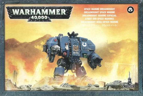 Warhammer 40.000. Space Marines. Dreadnought (48-26) — фото, картинка