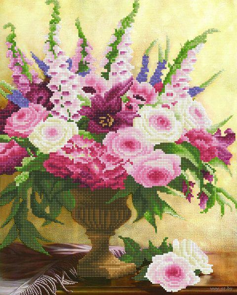 """Алмазная вышивка-мозаика """"Магия цветов"""" (420х520 мм) — фото, картинка"""
