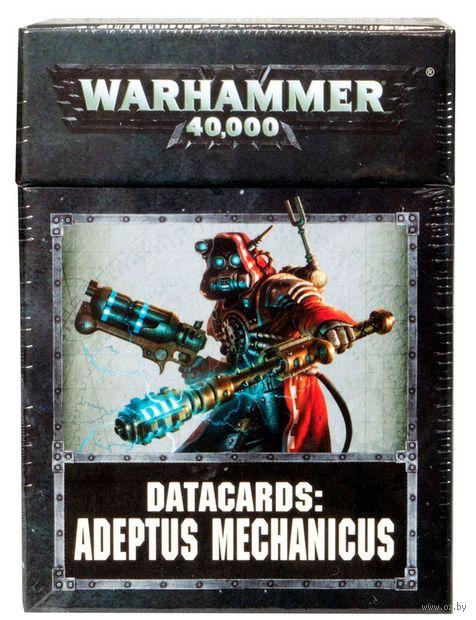Warhammer 40.000. Datacards: Adeptus Mechanicus (59-02-60) — фото, картинка