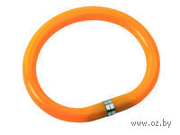 """Ручка-браслет шариковая синяя """"Арт-Хаус"""" (оранжевый корпус) — фото, картинка"""