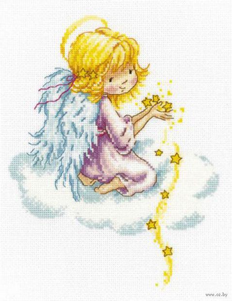 """Вышивка крестом """"Звездный ангел"""""""