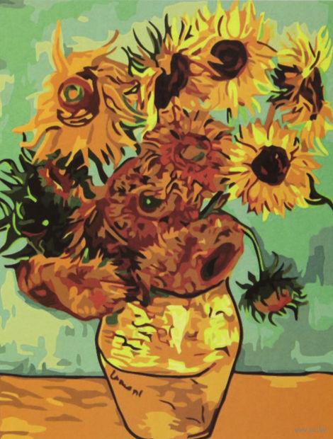 """Картина по номерам """"Подсолнухи Ван Гога"""""""