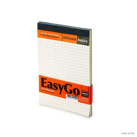 "Блокнот в клетку ""EasyGo"" (А6) — фото, картинка"