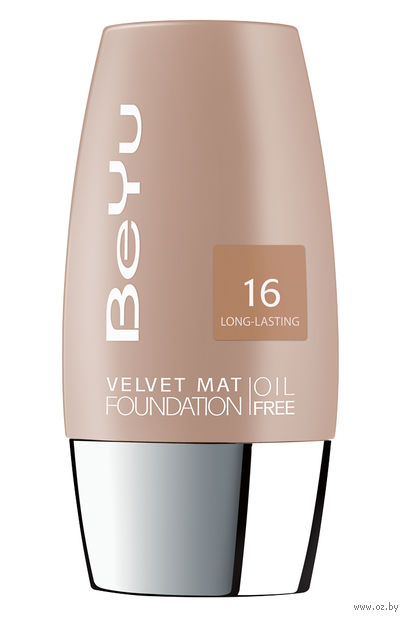"""Тональный крем для лица """"Velvet Mat Foundation"""" тон: 16, porcelain creme — фото, картинка"""