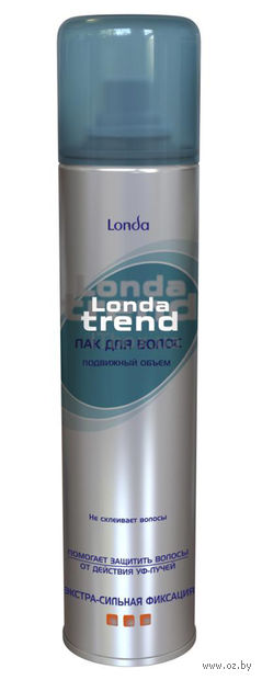 """Лак для волос """"Londa Trend. Подвижный объем экстрасильной фиксации"""" (250 мл)"""