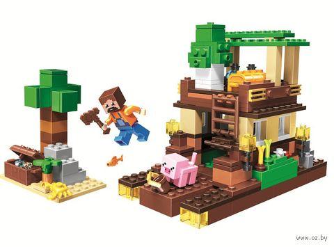 """Конструктор """"Minecraft. Остров сокровищ"""" (248 деталей) — фото, картинка"""