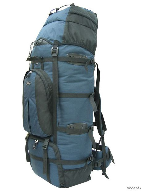 "Рюкзак ""Чаткал-110"" (110 л; чёрно-синий) — фото, картинка"