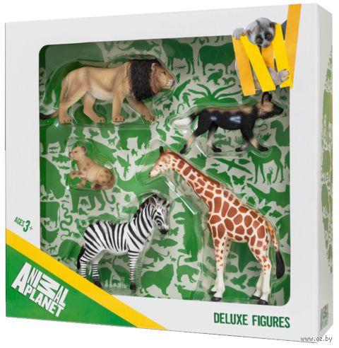 """Набор фигурок """"Animal Planet: Дикие животные"""" (5 шт.)"""
