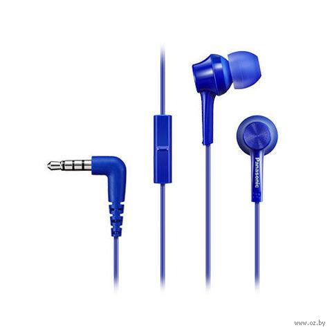 Гарнитура Panasonic RP-TCM105E-A (синяя) — фото, картинка