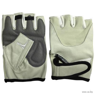 Перчатки для фитнеса 5102-BM (M; бежевые) — фото, картинка