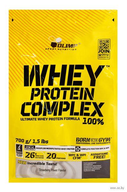 """Протеин """"Whey Protein Complex 100%"""" (700 г; клубника) — фото, картинка"""