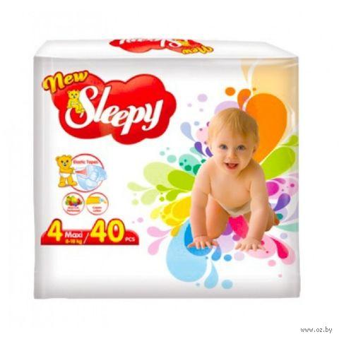 "Подгузники ""New Sleppy Maxi"" (8-18 кг; 40 шт.) — фото, картинка"