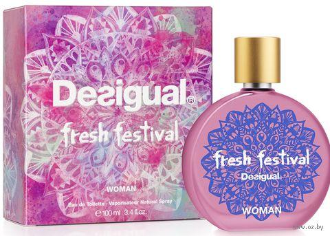 "Туалетная вода для женщин ""Fresh Festival Woman"" (100 мл) — фото, картинка"