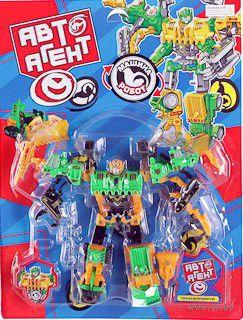 """Робот-трансформер """"АвтоАгент"""" (арт. Б47954)"""