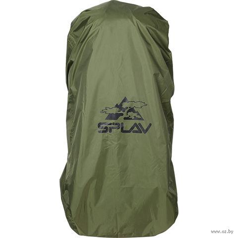 Накидка на рюкзак (70-90 л; оливковый)