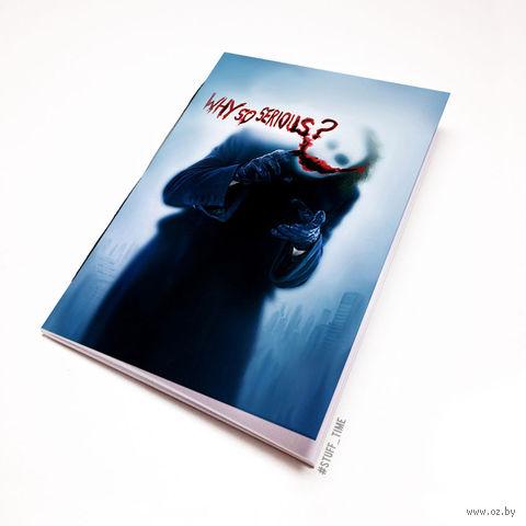 "Блокнот белый ""Джокер"" А6 (430)"