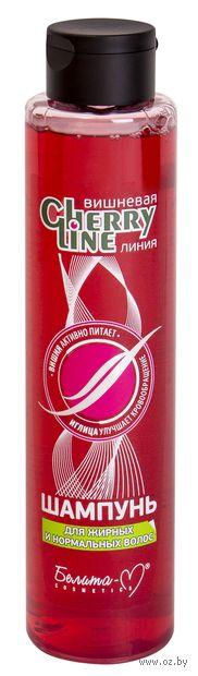 """Шампунь для волос """"Cherry Line. Для жирных волос"""" (400 г) — фото, картинка"""