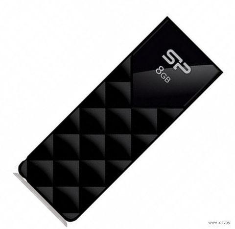 USB Flash Drive 8Gb Silicon Power Ultima U03 (Black)